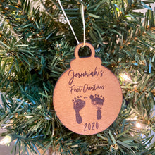 Load image into Gallery viewer, Personalized Christmas Tree Ornament