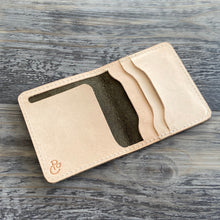 Load image into Gallery viewer, The Cahaba - Olive Leather Bifold Wallet