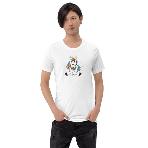 #wickedproud Unicorn Short-Sleeve Unisex T-Shirt