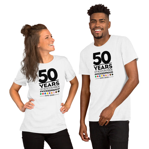 50th Anniversary Short-Sleeve Unisex T-Shirt