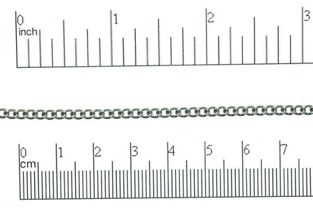 Curb Chain Stainless Steel CH-121SS Stainless Steel Curb Chain CH-121SS