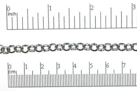 Rolo Chain Stainless Steel CH-128SS Stainless Steel Rolo Chain CH-128SS