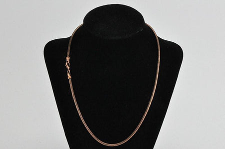 3.2mm Antique Brass Snake Chain Necklace