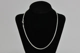 Necklace Silver SNAKE1 1mm 18 snake chain necklace Necklace SNAKE1-N/S18/S