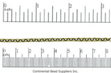 Cable Chain Antique Brass CH-885 Cable Chain CH-885AB