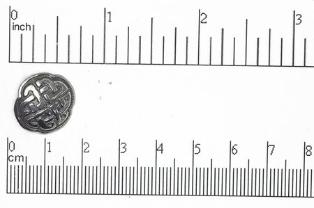 Button Antique Brass BTN8 16mm Pewter Button 16mm Pewter Button BTN8 | Wholesale Fashion Jewelry Manufacturers  BTN8AB