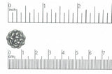 Button Antique Pewter BTN36 14mm Pewter Button 14mm Pewter Button | Continental Bead | Wholesale Bead Supplier BTN36AP
