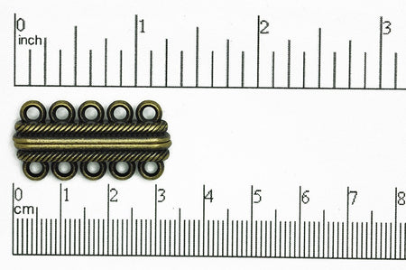 Magnetic Clasp Antique Brass CL/MC9 Magnetic Clasp CL/MC9AB