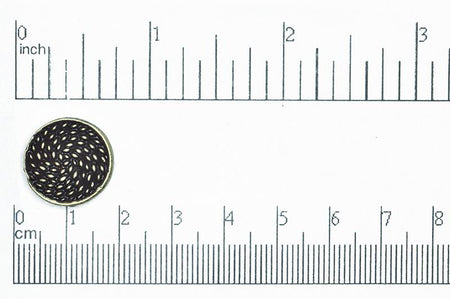Button Antique Pewter BTN23 16.5mm Pewter Button 16.5mm Pewter Button BTN23 | Cheap Beads in Bulk  BTN23AP