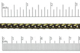 Snake Chain Antique Brass CH-832 Snake Chain CH-832AB