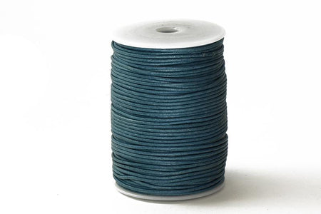 Cord Black WC 2mm Cotton Cord Available in Multiple Colors WC-BLK 2mm