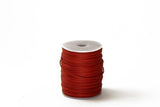 Cord Red WC 1mm Cotton Cord Available in Multiple Colors WC-RED 1mm