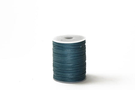 Cord Black WC 1mm Cotton Cord Available in Multiple Colors WC-BLK 1mm