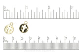Charm Gold K128 Cross Charm K128G