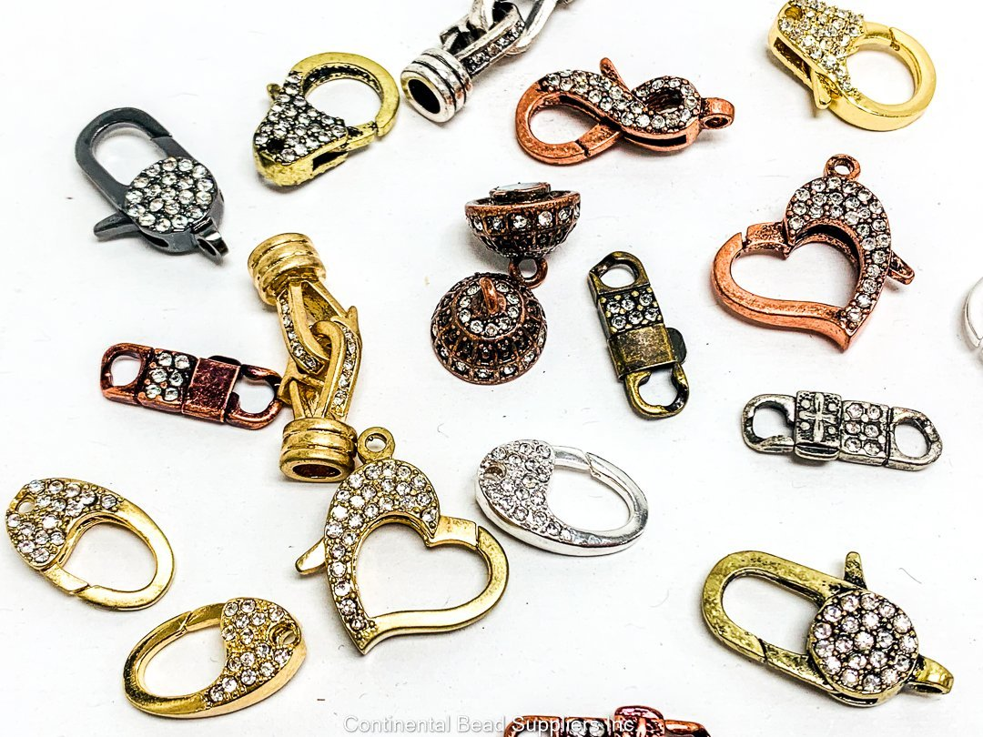 Assorted Clasps Assorted CL/PAVEASST Pave Clasp CL/PAVEASST