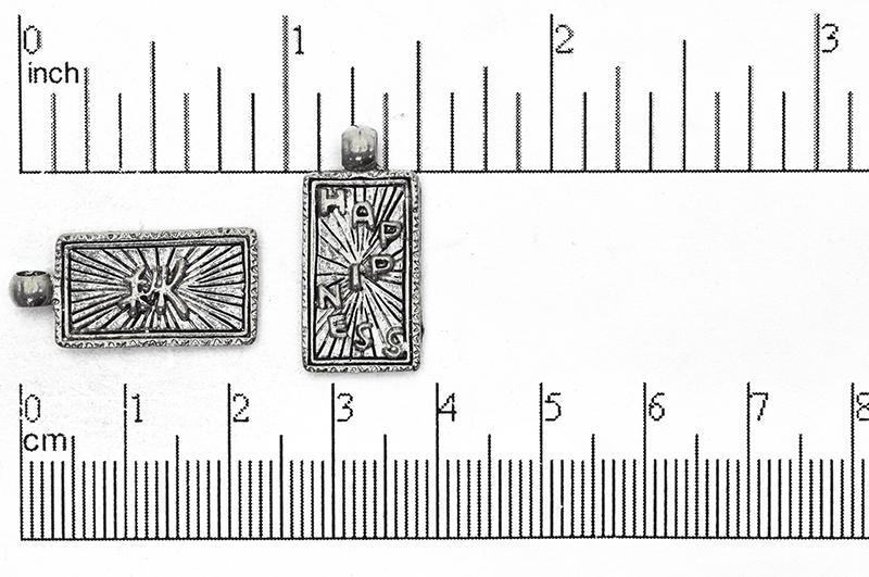 Charm Pewter CBS1743 Pewter Charm CBS1743AP