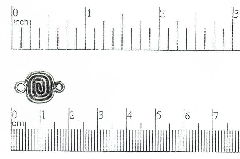 Connector Pewter CBS2640 Pewter Connector CBS2640AP