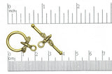 Toggle Clasp Antique Gold CBS3218 Pewter Toggle Clasp CBS3218AG