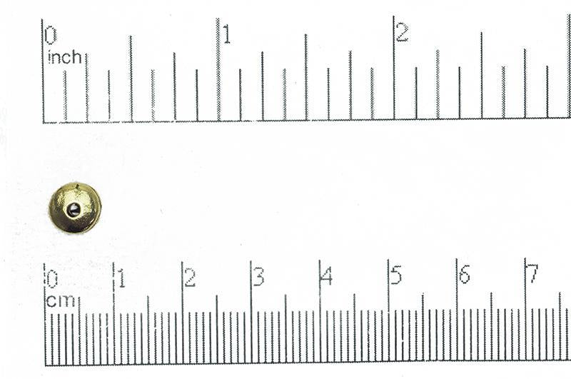 Pewter Bead Antique Gold CBS6084 Pewter Pewter CBS6084AG