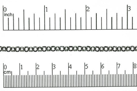 Rolo Chain Stainless Steel CH-132SS Stainless Steel Rolo Chain CH-132SS