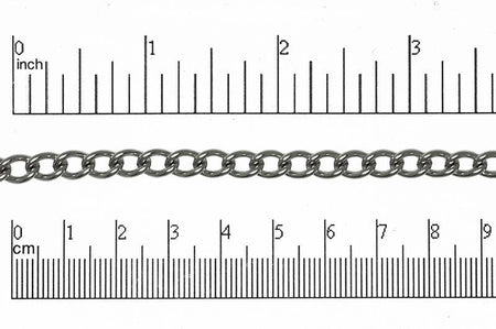 Curb Chain Stainless Steel CH-134SS Stainless Steel Curb Chain CH-134SS
