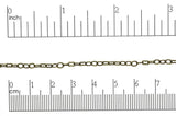 Cable Chain Antique Brass CH-33 Cable Chain CH-33AB