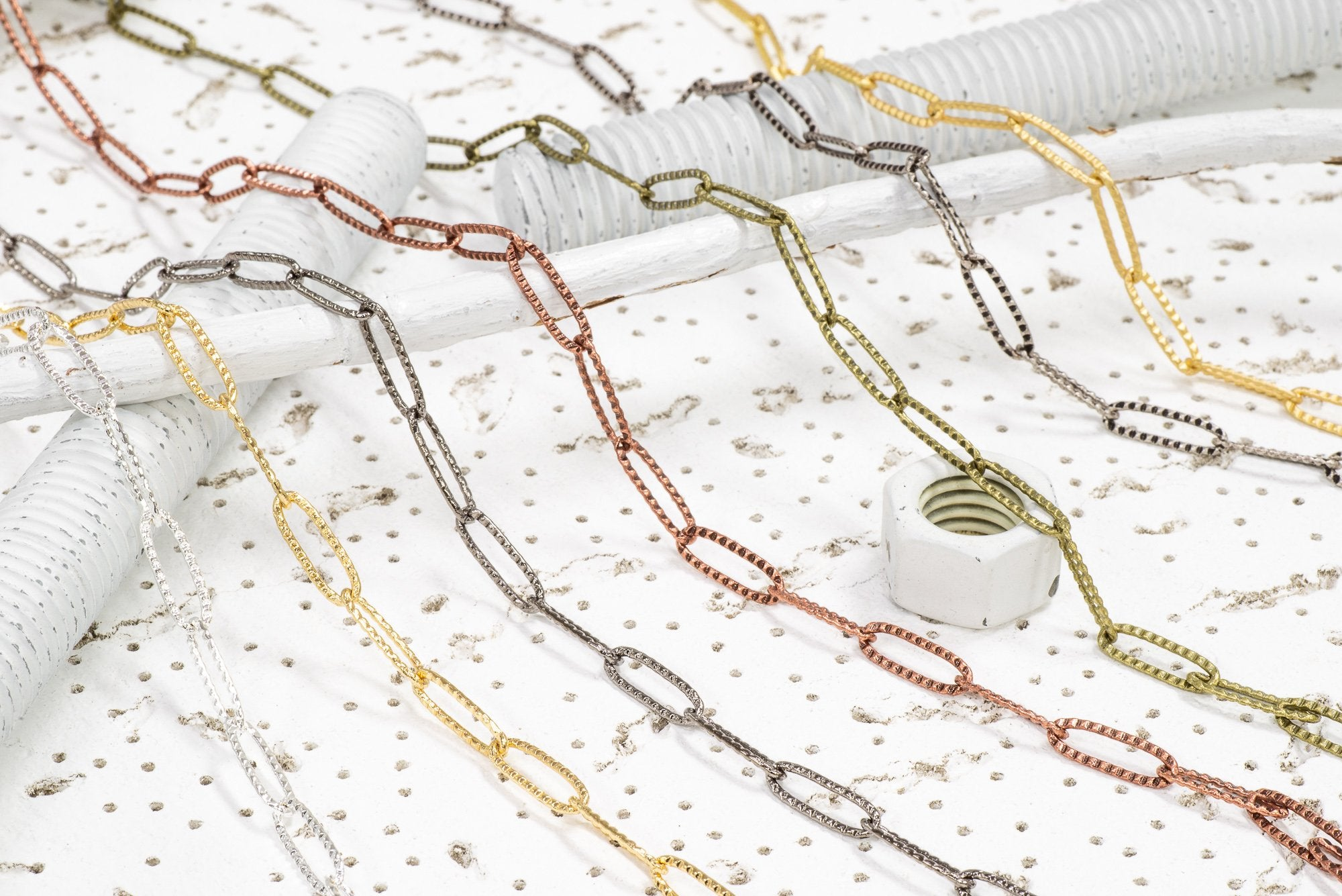 Cable Chain CH-842 Paperclip Cable Chain