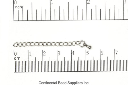 Curb Chain Stainless Steel CH-EXT1SS Stainless Steel Extender Chain CH-EXT1SS