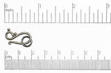 Hook & Eye Clasp Gunmetal CL/HE1277 Hook & Eye Clasp CL/HE1277B