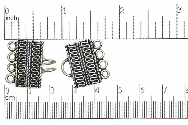 Bali Style Clasp Silver CL/CS511 Bali Style Clasp CL/CS511