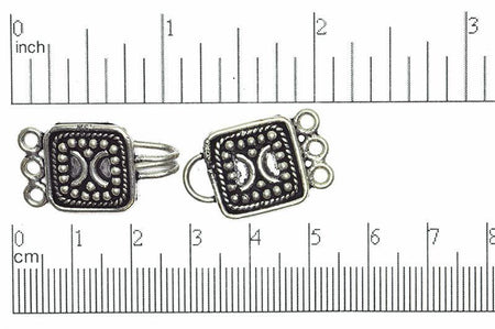 Bali Style Clasp Silver CL/CS001 Bali Style Clasp CL/CS001