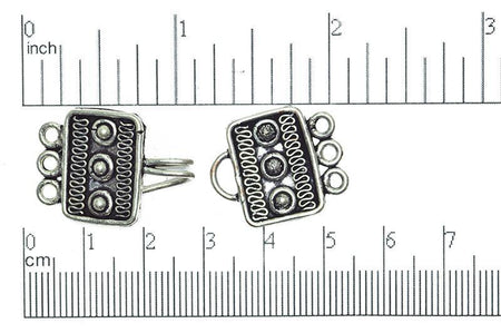 Bali Style Clasp Silver CL/CS441 Bali Style Clasp CL/CS441