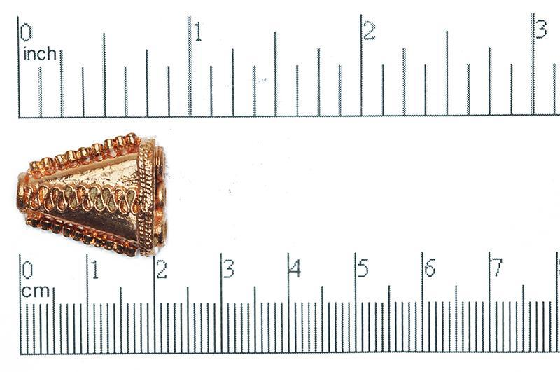 CC1276 Connector Bright Copper
