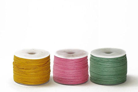 Cord WC 0.5mm Cotton Cord Available in Multiple Colors 0.5mm Cotton Cord Available in Multiple Colors | Continental Bead