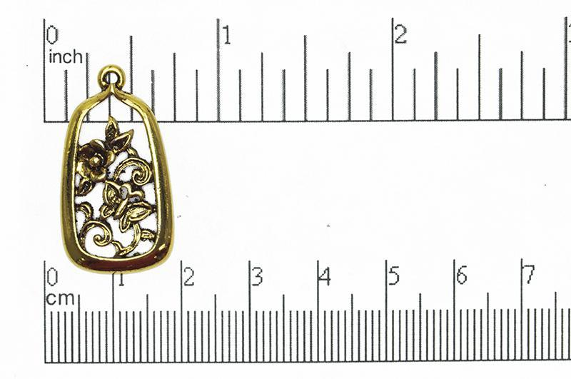 Charm Antique Gold CBS4029 Pewter Charm CBS4029AG