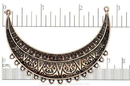Pendant Antique Brass K93 Ornate Collar Pendant K93AB