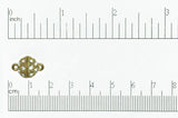 Magnetic Clasp Satin Hamilton Gold CL/MC6 Magnetic Clasp CL/MC6SHG