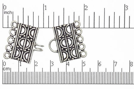 Bali Style Clasp Silver CL/CS911 Bali Style Clasp CL/CS911