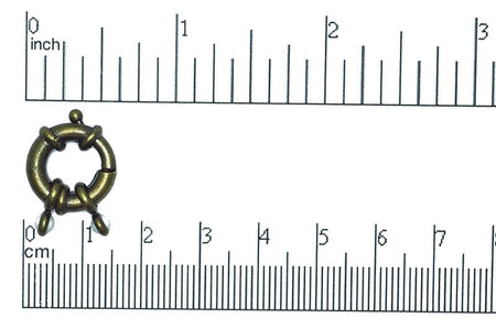 CL/CR2 Spring Clasp Antique Brass