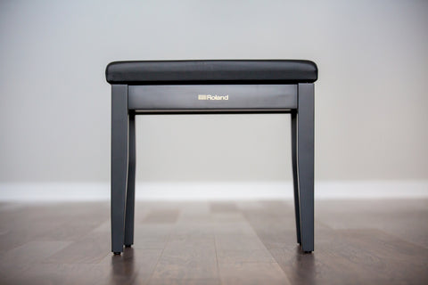 Roland RPB-100BK Bench with Music Compartment