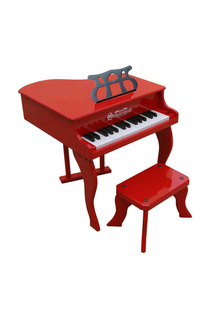 Schoenhut Toy Piano Fancy Baby Grand Red