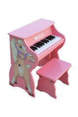 Schoenhut Toy Piano Piano Pals Pink with Horse