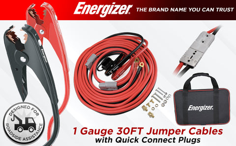Main Image ENB130 Energizer Jumper cables with quick connect anderson