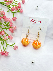 Half-Peeled Gam Earrings (Gold)