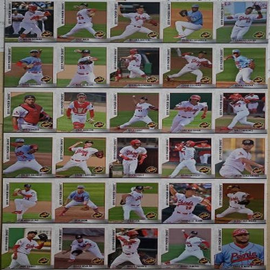 Peoria Chiefs 2019 Team Sets