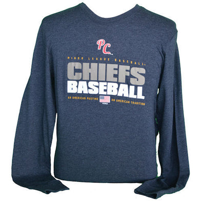 Peoria Chiefs Stacker Long Sleeve Tee