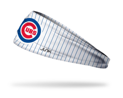 Cubs Home Pinstripes Headband