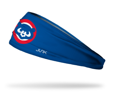 Cubs Big Blue Retro Headband