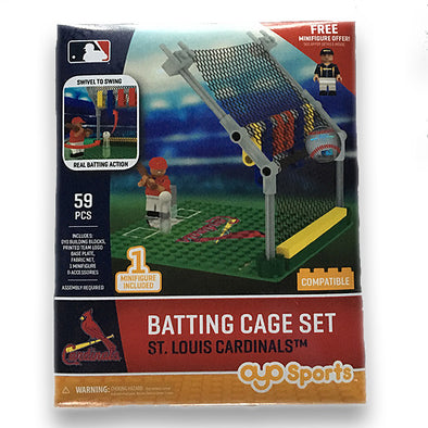 OYO St. Louis Batting Cage Toy Set