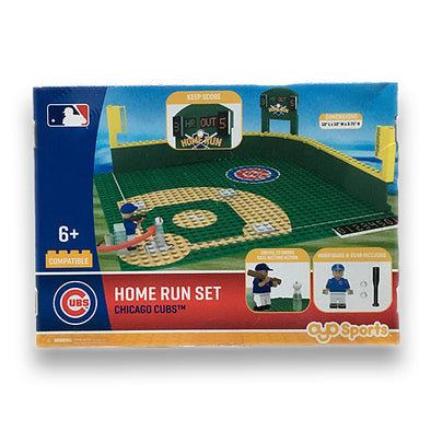 OYO Chicago Cubs Home Run Toy Set